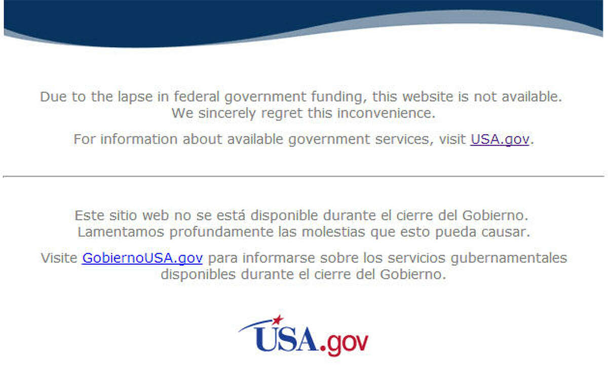 The government shutdown has even extended to the web. Many national agencies, like NASA in this picture, have gone dark, but some are continuing to stay online. Some services are crucial to our general well-being but others may leave you scratching your head. Related: Your guide to the shutdown