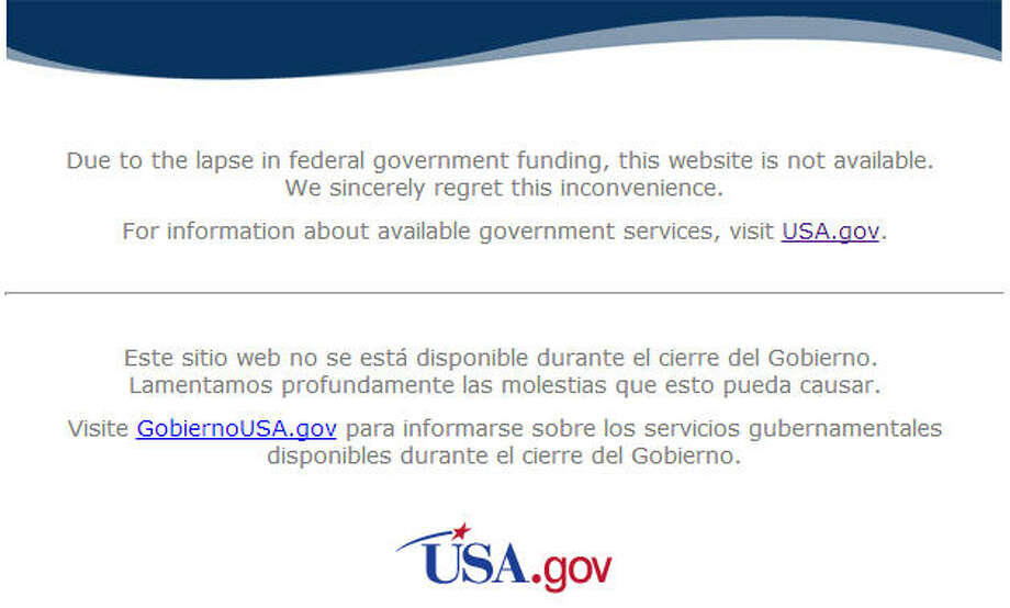The government shutdown has even extended to the web. Many national agencies, like NASA in this picture, have gone dark, but some are continuing to stay online. Some services are crucial to our general well-being but others may leave you scratching your head.Related: Your guide to the shutdown