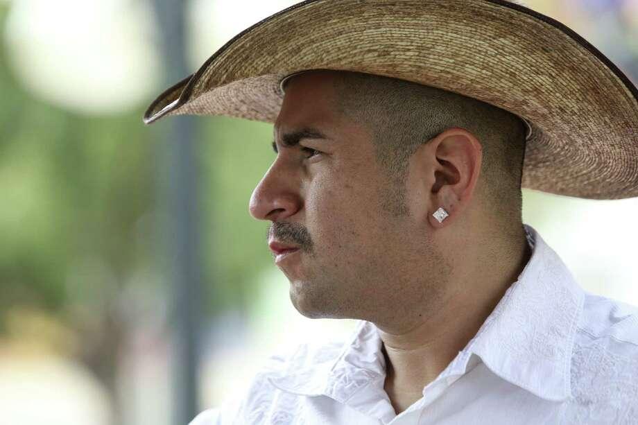 Musician Sunny Sauceda Photo: Helen L. Montoya / San Antonio Express-News