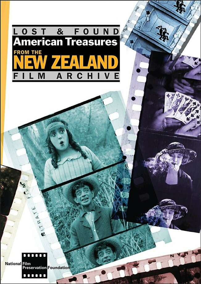 "dvd cover: ""Lost & Found: American Treasures from the New Zealand Film Archive"" Photo: New Zealand Film Archive, Amazon.com"