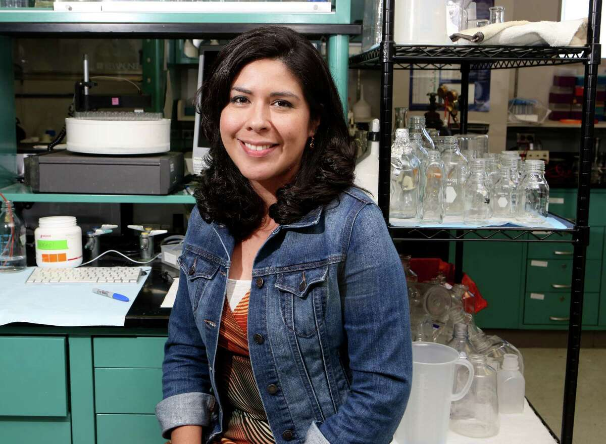 Kristin Cano-McCue is one of the many scientists participating in this year's Society for the Advancement of Chicanos and Native Americans in Science conference