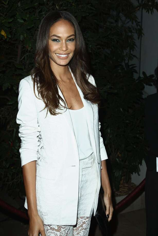Joan Smalls attends the 'Mademoiselle C' cocktail party at Pavillon Ledoyen on October 1, 2013 in Paris, France.  (Photo by Julien M. Hekimian/Getty Images) Photo: Julien M. Hekimian, Getty Images