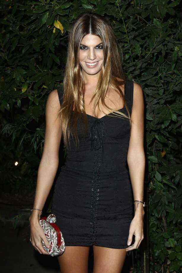 Bianca Brandolini  attends the 'Mademoiselle C' cocktail party at Pavillon Ledoyen on October 1, 2013 in Paris, France.  (Photo by Julien M. Hekimian/Getty Images) Photo: Julien M. Hekimian, Getty Images