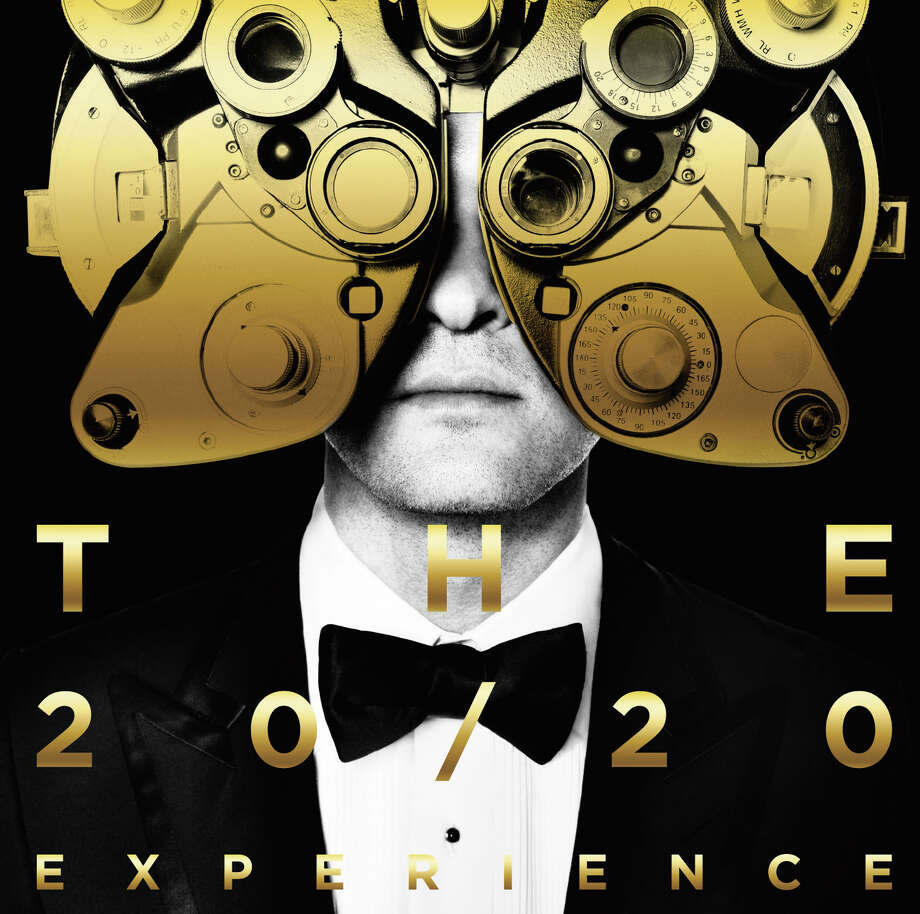 "This CD cover image released by RCA Records shows ""The 20/20 Experience 2 of 2,"" by Justin Timberlake. (AP Photo/RCA) ORG XMIT: NET100 / RCA Records"