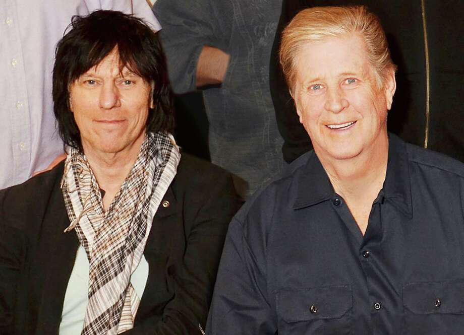 Jeff Beck and  Brian Wilson ORG XMIT: MER2013080514125463