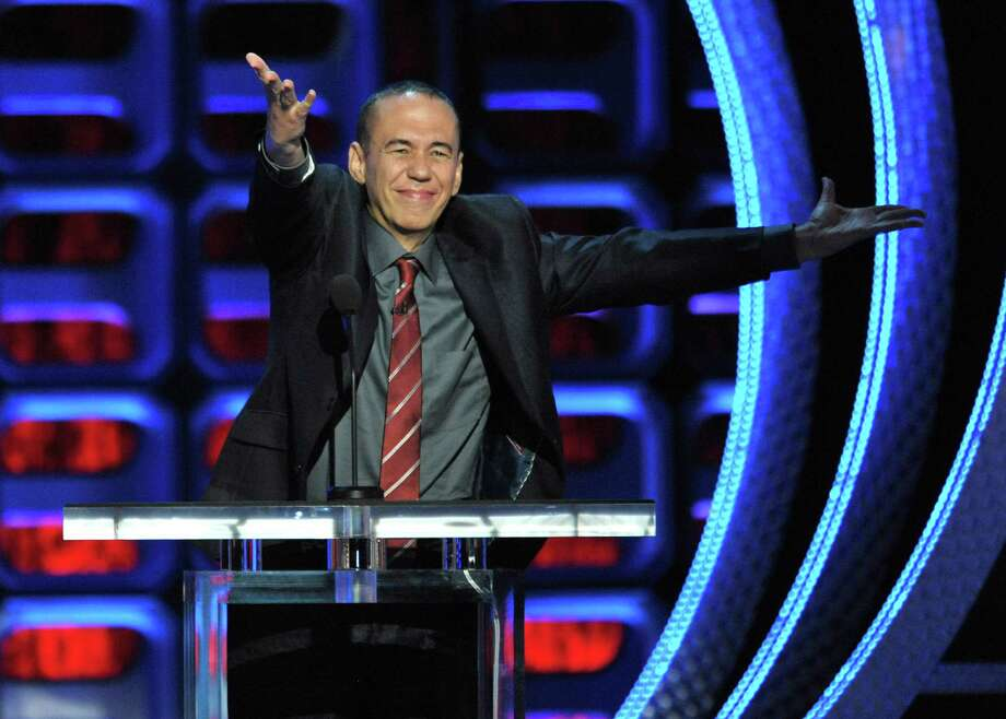 "Gilbert Gottfried appears on stage at the Comedy Central ""Roast of Roseanne"" at the Hollywood Palladium on Saturday, Aug. 4, 2012, in Los Angeles. (Photo by John Shearer/Invision/AP) Photo: John Shearer / Invision"