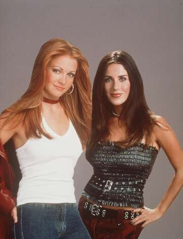 """370100 02: Melissa Joan Hart and Soleil Moon Frye star in Warner Bros. TV series """"Sabrina The Teenage Witch."""" (Photo by Warner Bros./Delivered by Online USA) Photo: Getty Images"""