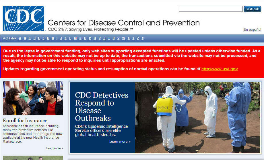 Barring any viral outbreaks or the zombie apocalypse, the CDC website will likely not be posting any updates until the shutdown is over.Related: CDC