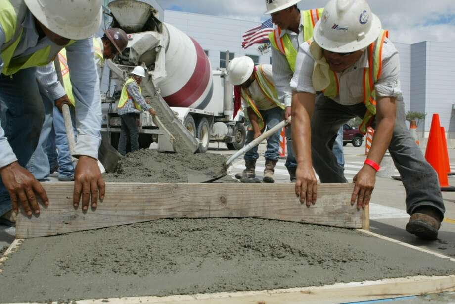 Day 3, Oct. 1 -- Fixing the curbs Photo: John De Layre