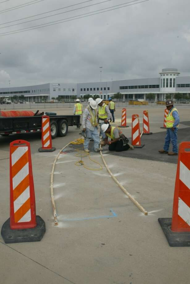 Day 2, Sept. 30 @ 10 a.m. - Turn 2, preparing the curb at the chicane Photo: John De Layre