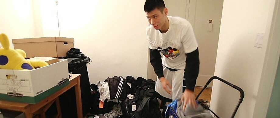 "Jeremy Lin is seen in a scene from, ""Linsanity."" Photo: Ketchup Entertainment"
