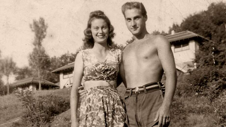 Sid Caesar and his fiancee, Florence Levy, at Avon Lodge in the Catskills, part of the Borscht Belt circuit in which many comedians got their start. Photo: International Film Circuit