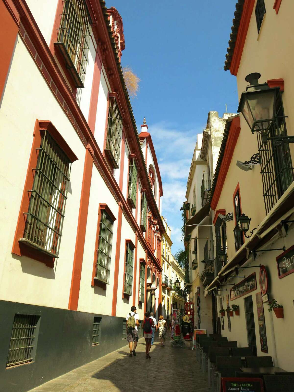 Guernsey is a stop during Crystal Cruises' 10-day European Embrace tour. Passengers explore Seville's former Jewish quarter during the Classic Seville excursion.