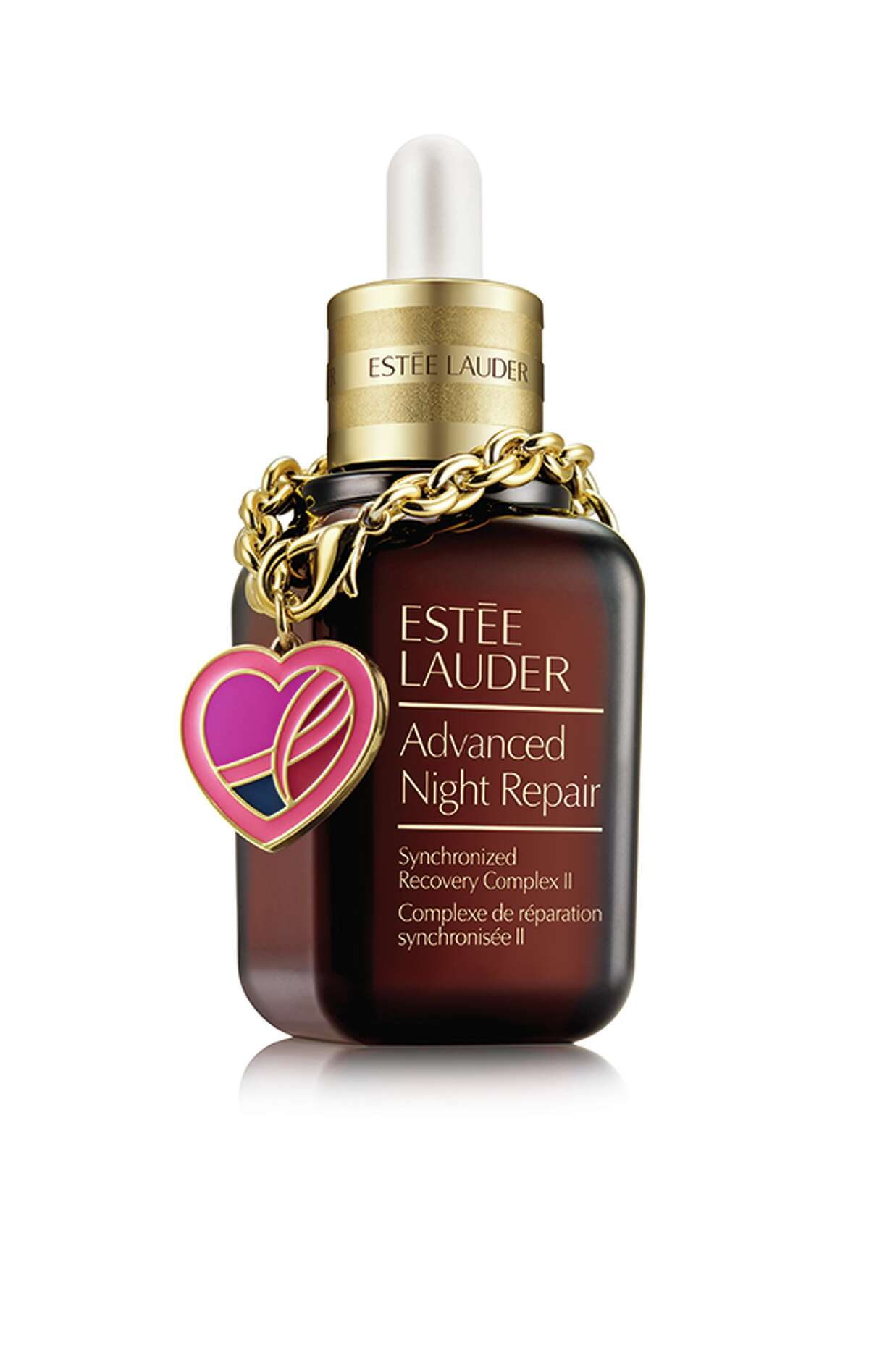 OVERNIGHT SUCCESS Looking for a great reason to splurge on yourself? Bottles of Estée Lauder Advanced Night Repair Synchronized Recovery Complex II sold with a limited edition pink ribbon charm bracelet will give 20 percent of the retail price to the Breast Cancer Research Foundation; $92 at Macy's.