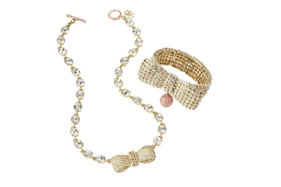 BOW WOWAnn Taylordonates 70 percent of the purchase price of the Brilliant Bow Collection necklace and bracelet to the Breast Cancer Research Foundation; $49.50-$79.50 at Ann Taylor. Photo: Jack Deutsch
