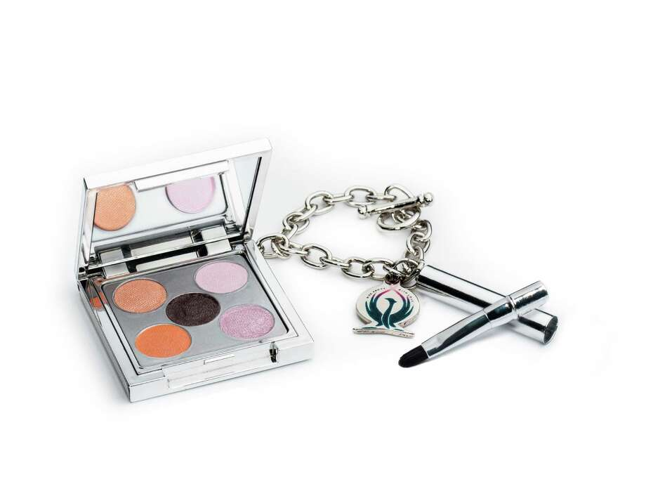 BRIGHT EYESWhat's in a Jane Iredale Bright Future compact? How about five shimmery eye shades, a travel brush, a charm bracelet, a rose-colored Swarovski crystal and a commitment to give 100 percent of profits to Living Beyond Breast Cancer; $30 at shop.janeiredale.com.