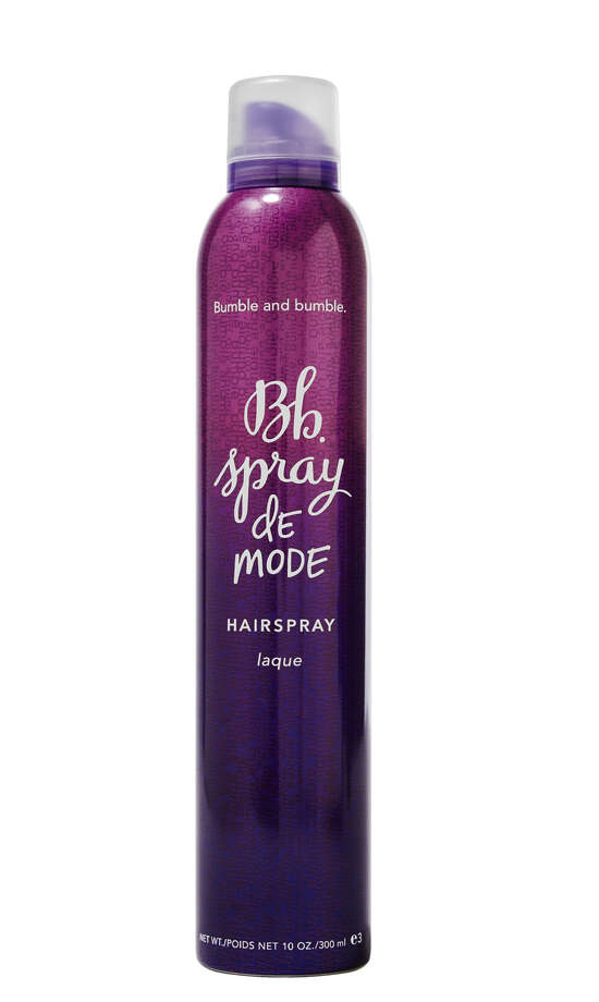 SPRAY IT RIGHTFor each purchase of Spray de Mode hairspray, Bumble & Bumble will donate $5 to Breast Cancer Research Foundation; $27 at bumbleandbumble.com.