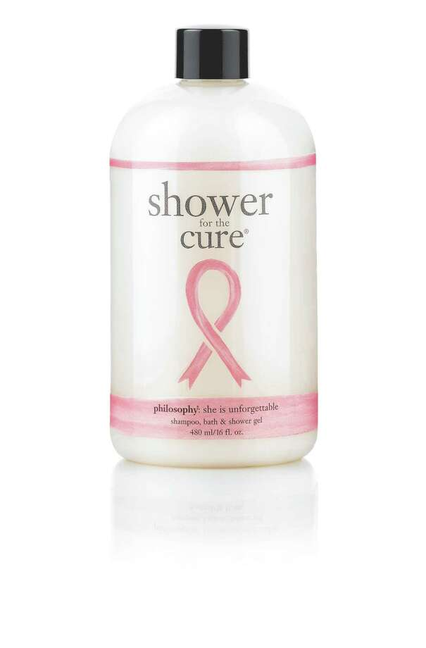 SOAP FOR HOPEEvery cent of the net profits from Philosophy's Shower For the Cure combo shower gel, bubble bath and shampoo goes to the Women's Cancer Research Fund; $20 at Sephora.