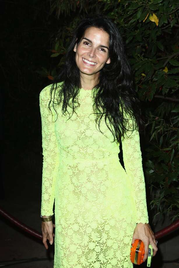 Angie Harmon attends the 'Mademoiselle C' cocktail party at Pavillon Ledoyen on October 1, 2013 in Paris, France.  (Photo by Julien M. Hekimian/Getty Images) Photo: Julien M. Hekimian, Getty Images