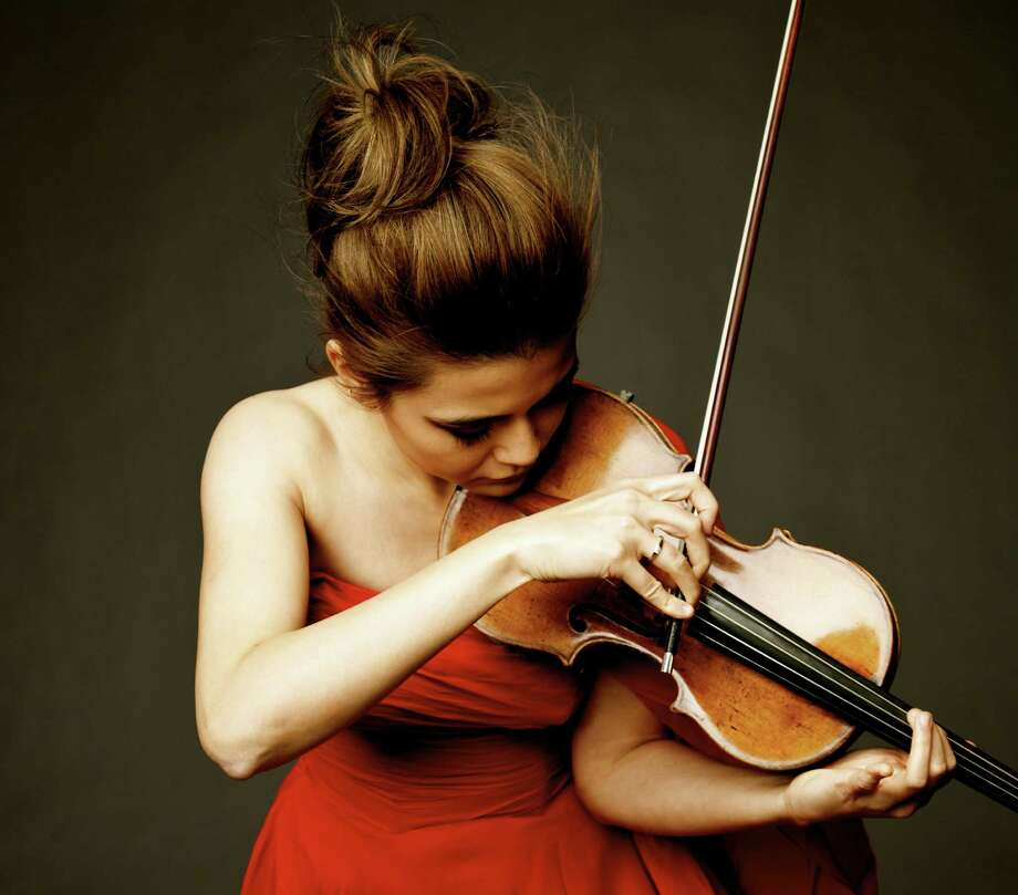 "Violinist Karen Gomyo will be featured on Saint-Saens' ""Violin Concerto No. 3."""