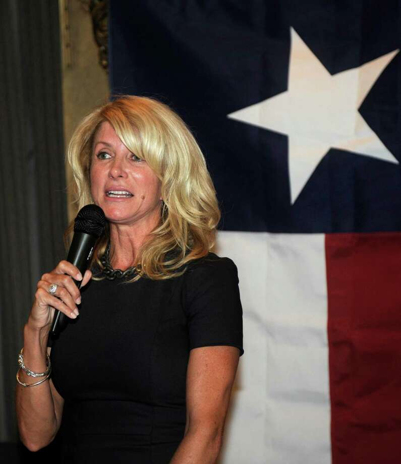 A reader says the idea of Democrat Texas state Sen. Wendy Davis,  who supports pro-abortion rights, running for governor is preposterous. Photo: Nick Wass, Associated Press / FR67404 AP