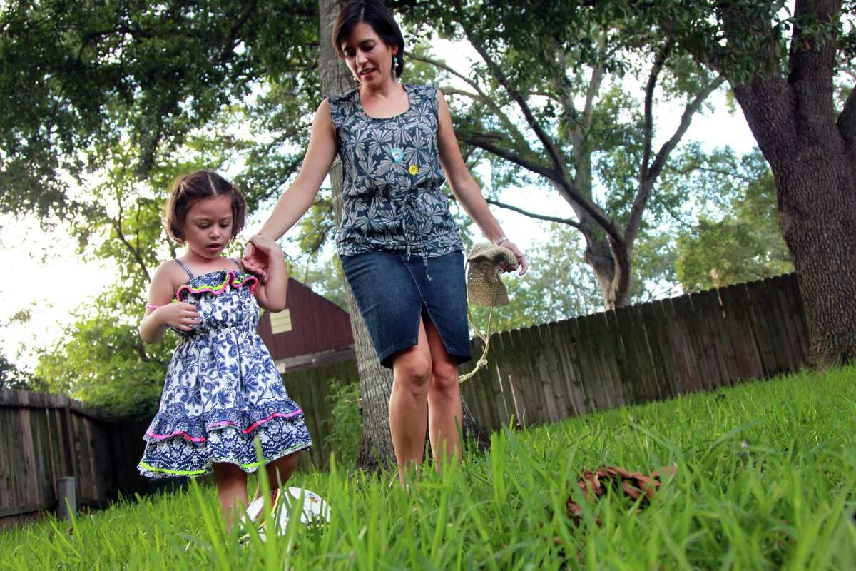 Sandra Ojeda is impressed that her daughter Sofia, 4, can walk and has honed other motor skills that were lacking before her diagnosis by a new genetics test.