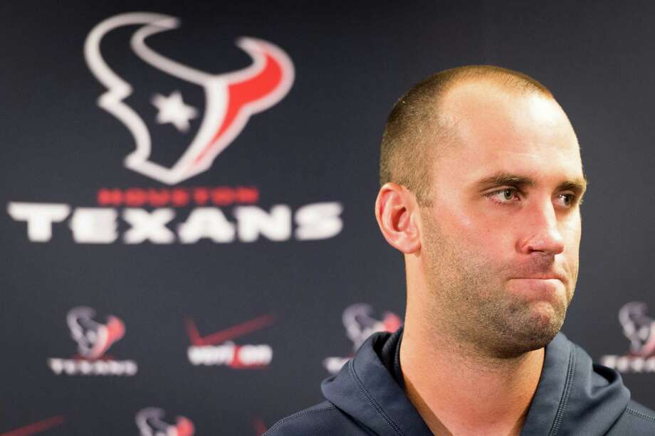 When all is said and done this season, Matt Schaub hopes the fan who burned the quarterback's Texans jersey out of anger Sunday will want to get a new one to wear. Photo: Smiley N. Pool, Staff / © 2013  Houston Chronicle