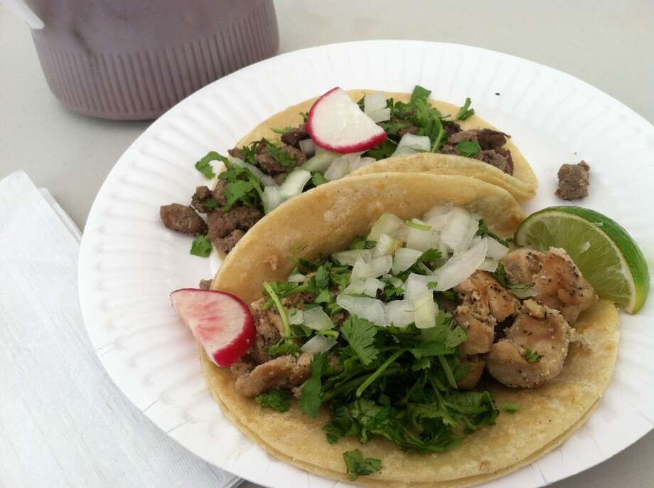 So how do the tacos taste at Rancho Bravo (pictured)?   Pretty tasty and good salsas to boot. Photo: Stephen Cohen, Seattlepi.com