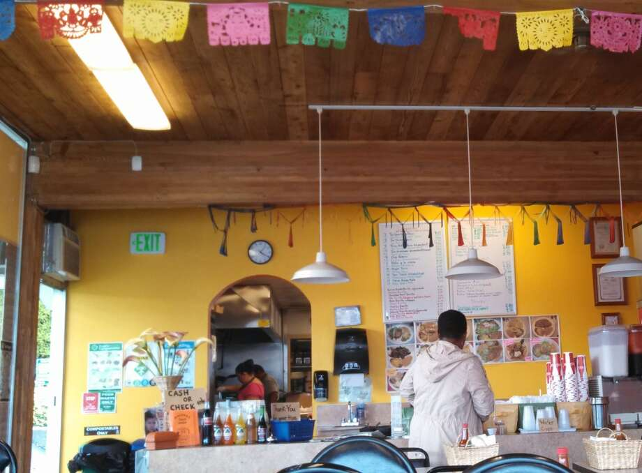 Malena's Taco Shop in Ballard. Photo: Aubrey Cohen, Seattlepi.com