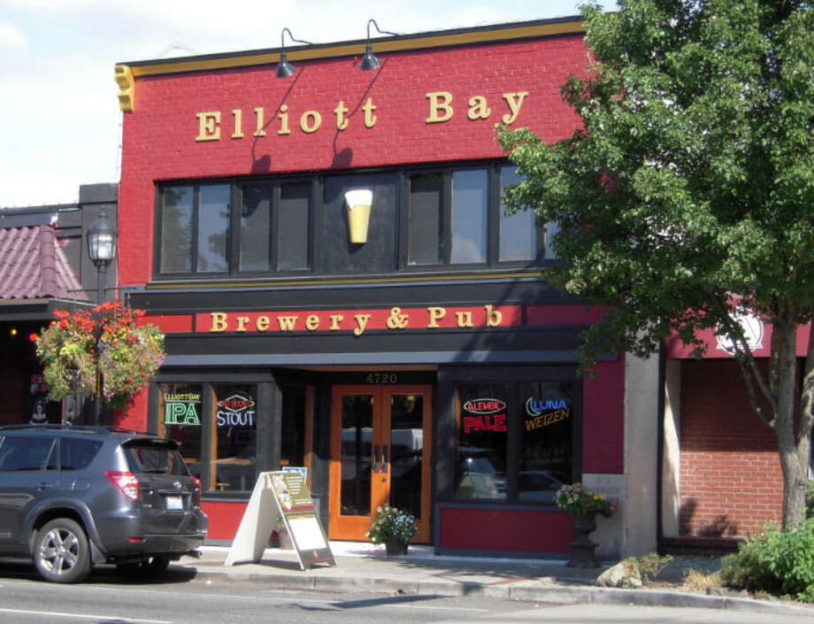 4. Elliott Bay Brewery Company: Lucky you. You have two Seattle spots (Lake City, West Seattle) to eat the brewpub's popular fish and chips, done in tempura batter made with the brewery's own Luna weizen beer. Served with tartar sauce, citrus cilantro slaw, seasoned fries. Photo: King County Parcel Viewer
