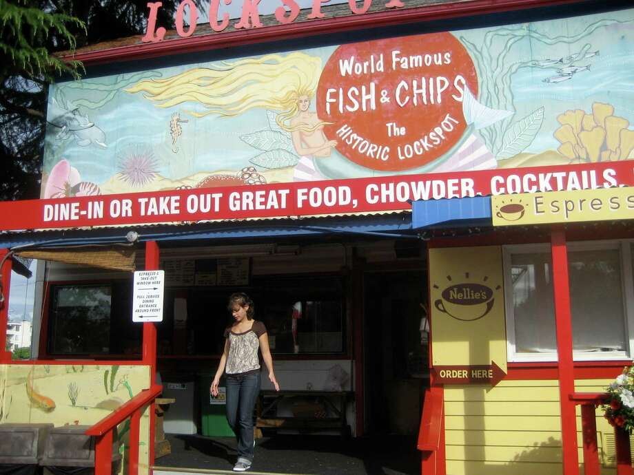 "10. Lockspot Cafe: If your sign says your fish and chips are ""world famous,"" they better be great. This longtime Ballard place has fans of its bar food and ambiance. Photo by jkshaheen in City Wanderers blog on seattlepi.com."