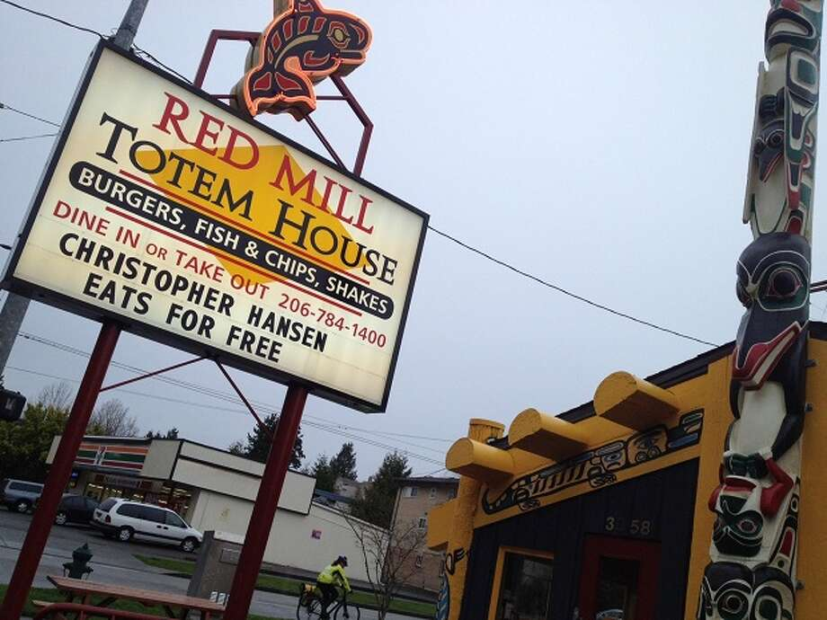 11. Red Mill Totem House: You already know the deliciousness that are Red Mill burgers. But fish and chips are a big draw at the chain's Ballard restaurant, where Seattle arena investor Chris Hansen apparently is very welcome. Photo: Nick Eaton, Seattlepi.com