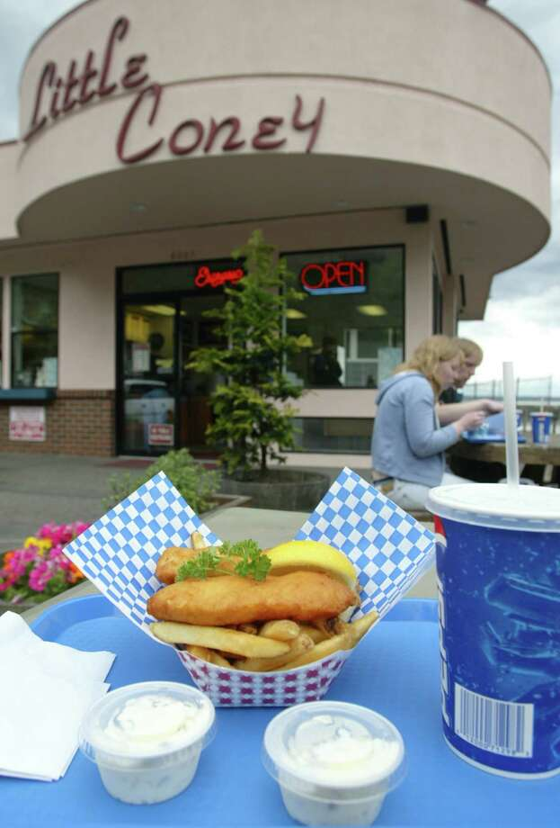 14. Little Coney: You'll get get better fish and chips elsewhere, but this shack features a killer waterfront view and easy beach food near Golden Gardens. Bonus: Soft serve ice cream. Photo: GILBERT W. ARIAS, Seattle Post-Intelligencer / Seattle P-I