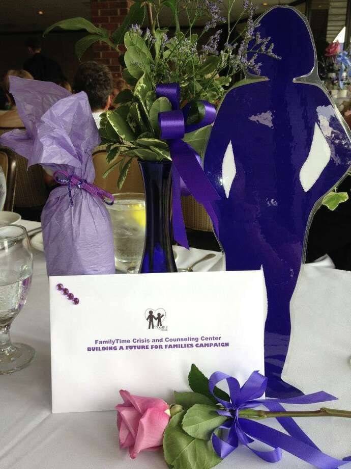 Proceeds from the Purple Ribbon Luncheon benefit FamilyTime programs for victims of abuse. Photo: Courtesy Of FamilyTime Crisis And Counseling Center