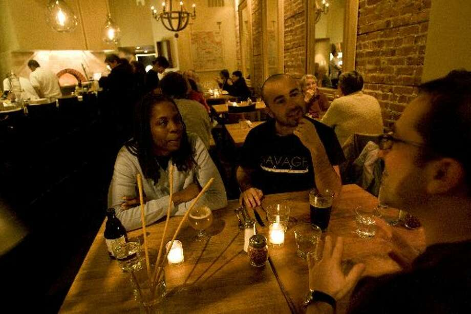 The interior of Marzano in Oakland. Photo: Lauren Molton, Special To The San Francisco Chronicle 2008