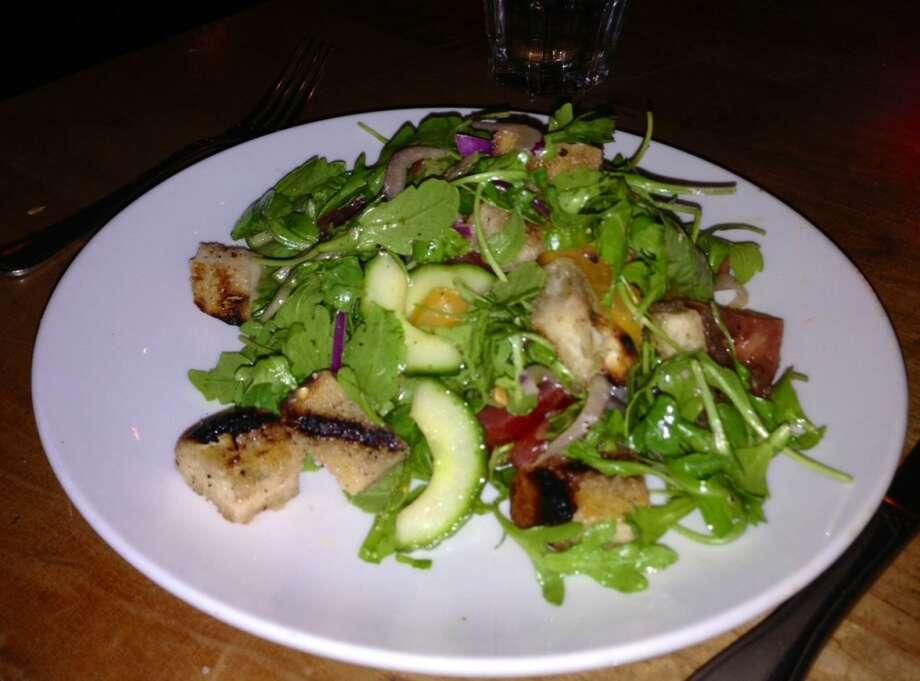 Heirloom panzanella salad ($12)