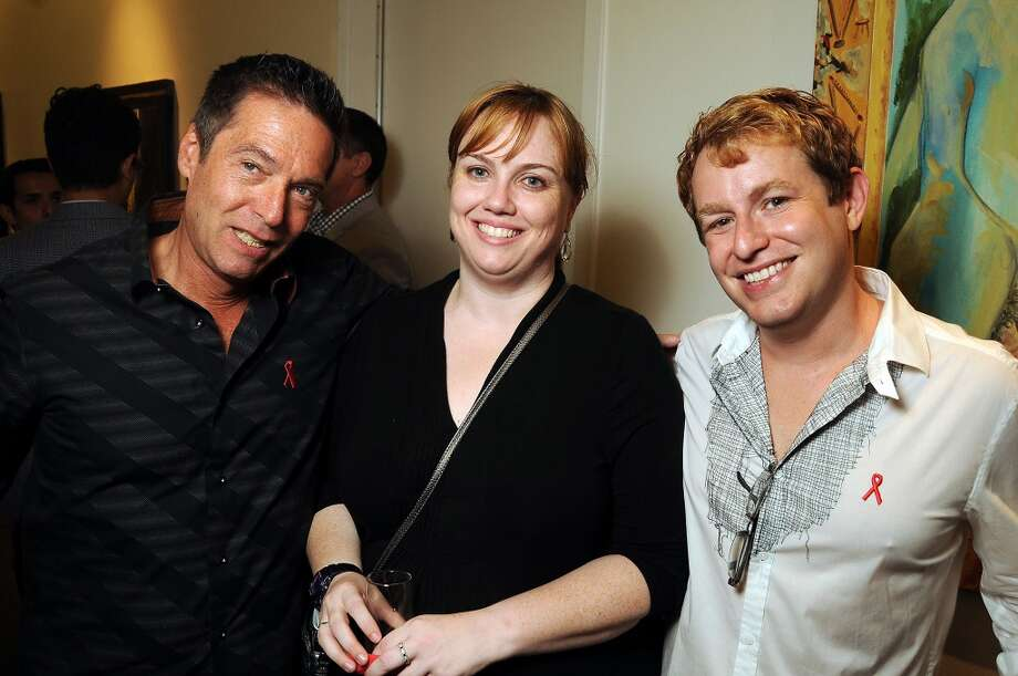 From left: Scott Moster, Kate O'Brien and Dustin Ruffatto Photo: Dave Rossman, For The Houston Chronicle