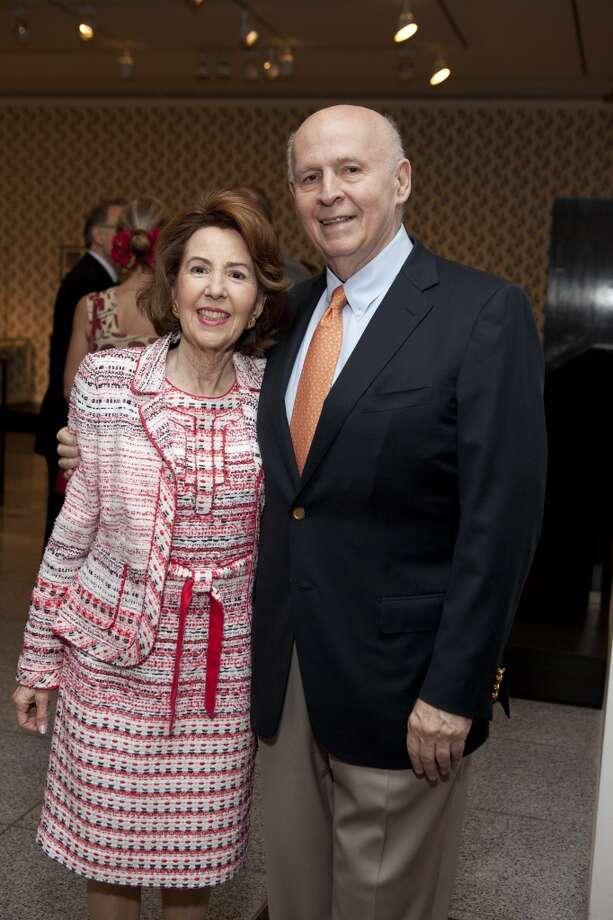 Gail and Louis Adler Photo: A. Lowman