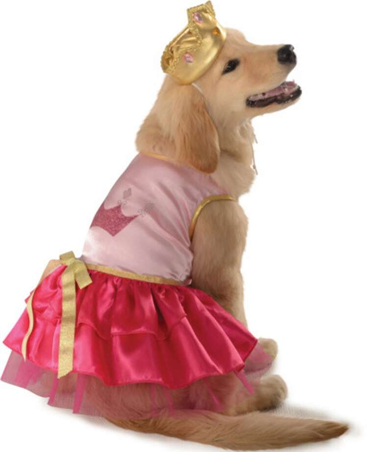 Do you like to embarrass your dog in October? We're here to help - Wayfair.comhas announced the 10 most popular dog costumes for 2013. Click through the slideshow for the results.  No. 1 Princess, for the dog who spends the day drooling all over the sofa throw pillows. Photo: Courtesy Photo