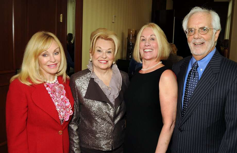 From left: Chairs Judi McGee, Sidney Faust, Elsie Eckert and Scott Basinger Photo: Dave Rossman, For The Houston Chronicle