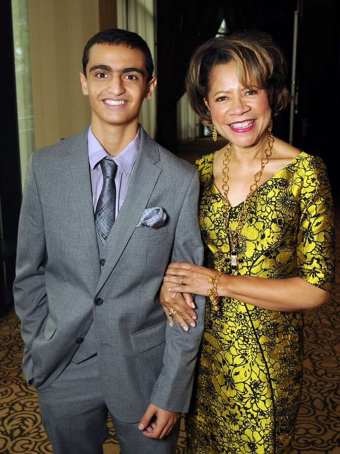 Ramzi Razaq and Merele Yarborough Photo: Dave Rossman, For The Houston Chronicle