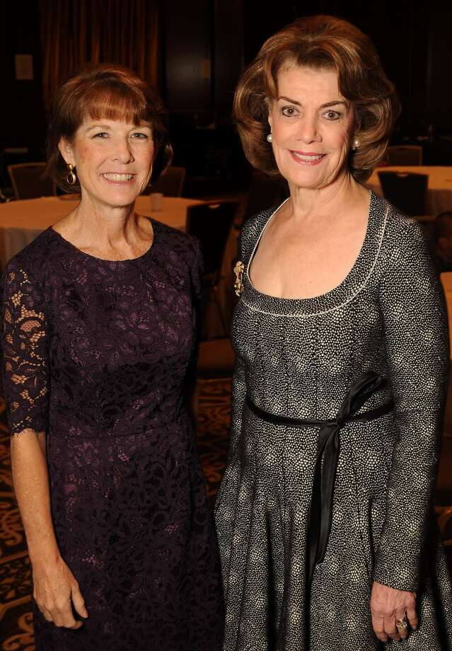 Susan Blaney and honoree Jeanie Kilroy Wilson Photo: Dave Rossman, For The Houston Chronicle