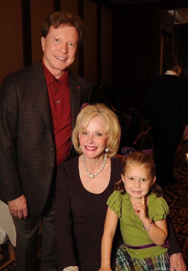 Carolyn and Dr. Michael Mann along with Addison Riden Photo: Dave Rossman, For The Houston Chronicle