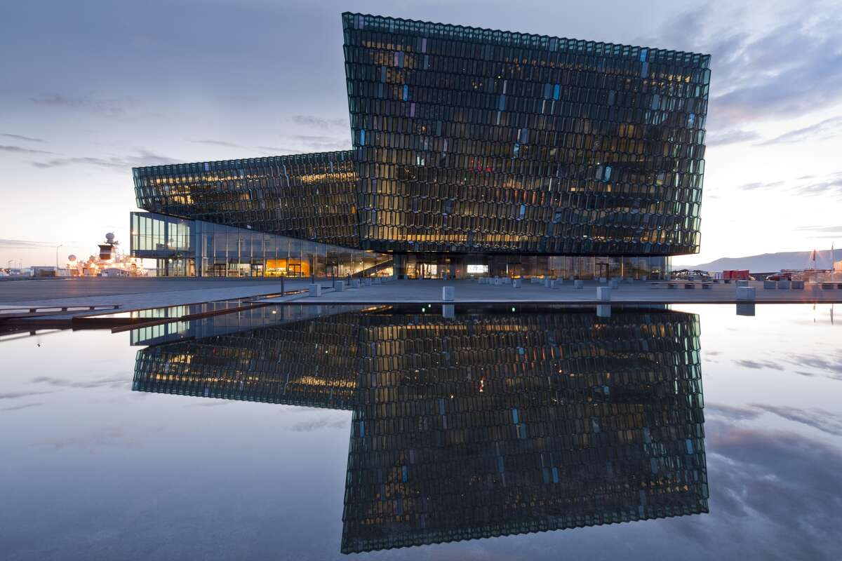 Harpa - Reykjavik Concert Hall and Conference , Reykjavik, Iceland. Batteriid Archtects. Henning Larsen Architects.