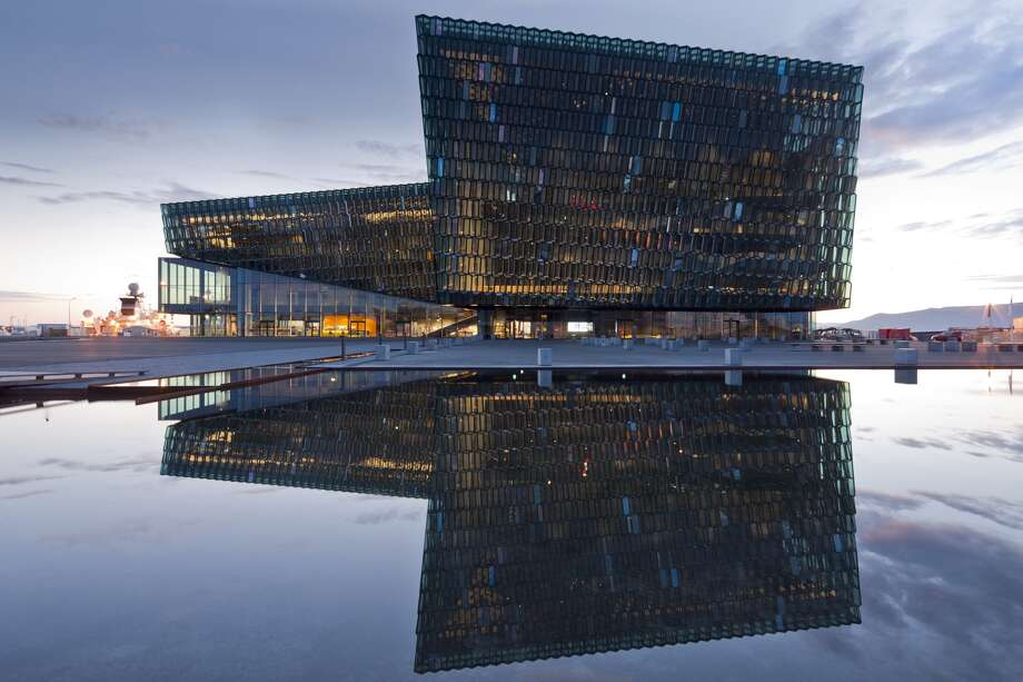 Harpa - Reykjavik Concert Hall and Conference, Reykjavik, Iceland. Batteriid Archtects. Henning Larsen Architects. Photo: Courtesy Architizer A+ Awards