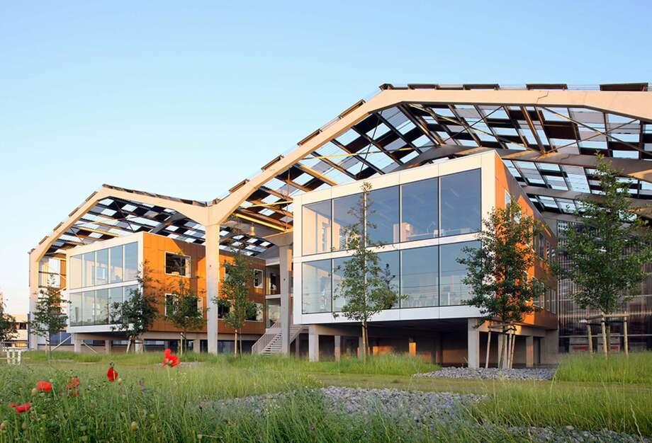 KOP Warehouses, Puurs, Belgium. URA. Photo: Courtesy Architizer A+ Awards