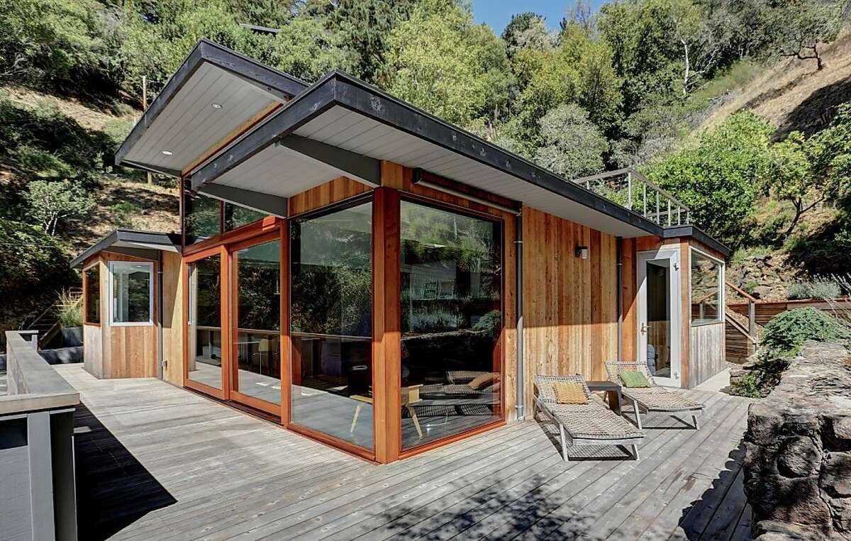 The home includes a custom made European Lift-Glide sliding glass door.