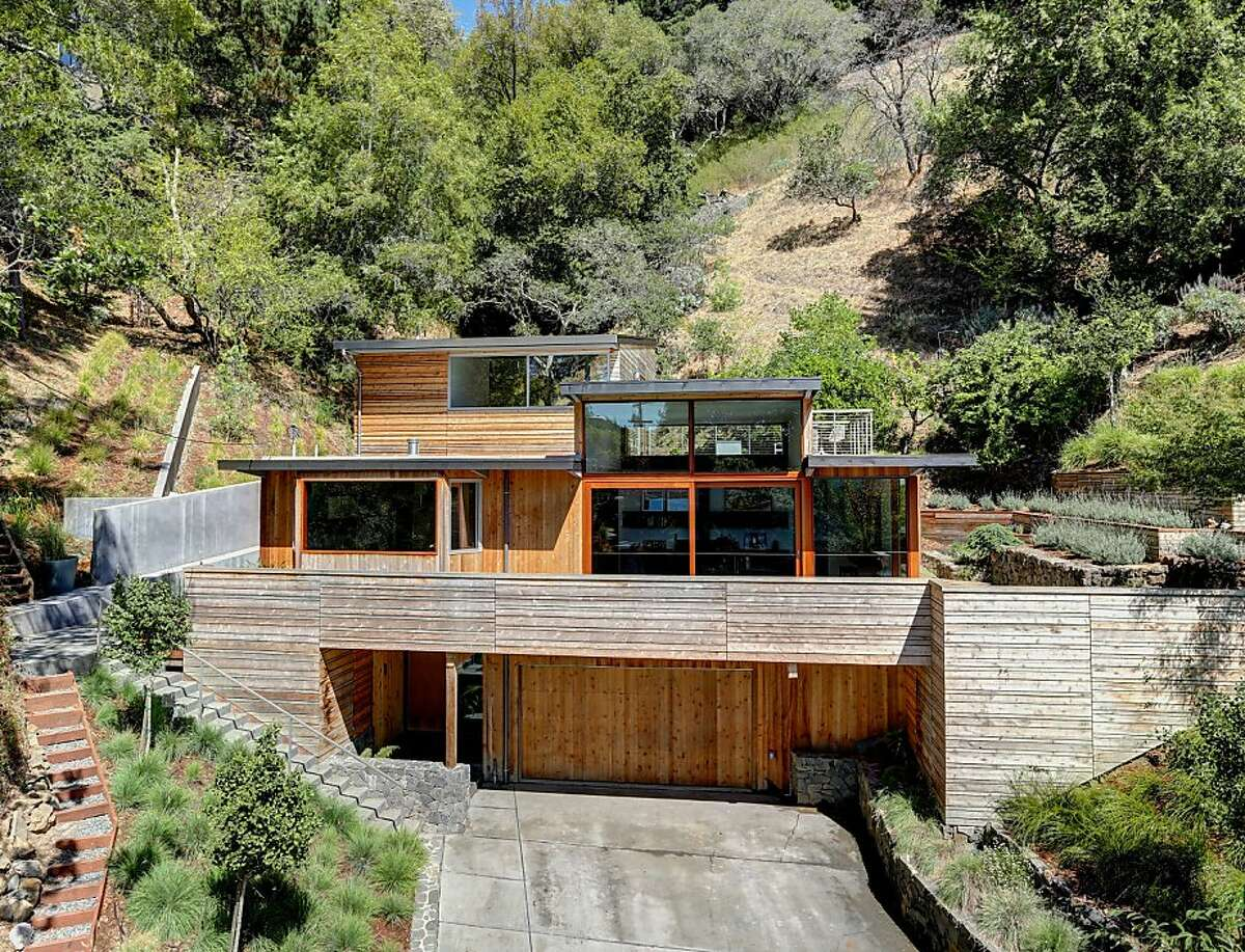70 Bolsa Ave. is a $1.895 million modern home in Mill Valley.