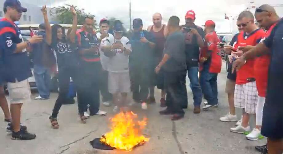 You don't like Matt Schaub? We don't like almost anyone. You don't see us burning $200 jerseys in effigy on Texas Street. Photo: YouTube