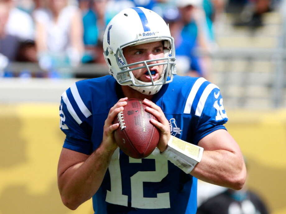 "Q: What are your thoughts on Colts QB Andrew Luck?  ""He's a great quarterback. His dad (Oliver Luck) is actually the athletic director at West Virginia. (Andrew Luck) is a great athlete, a great quarterback. He could run if you put him in that situation, but he would rather throw it. He has great speed, and we know we have to play assignment football. You can't get too greedy or he will make you pay for it.""  Q: Did the elder Luck tell you to take it easy on his son?  ""He can say that, but I'm not on scholarship anymore."" Photo: Sam Greenwood, Getty Images / 2013 Getty Images"